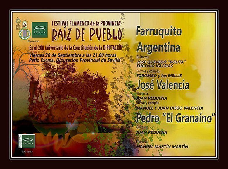 Entrega de la Musa Flamenca a la Diputación