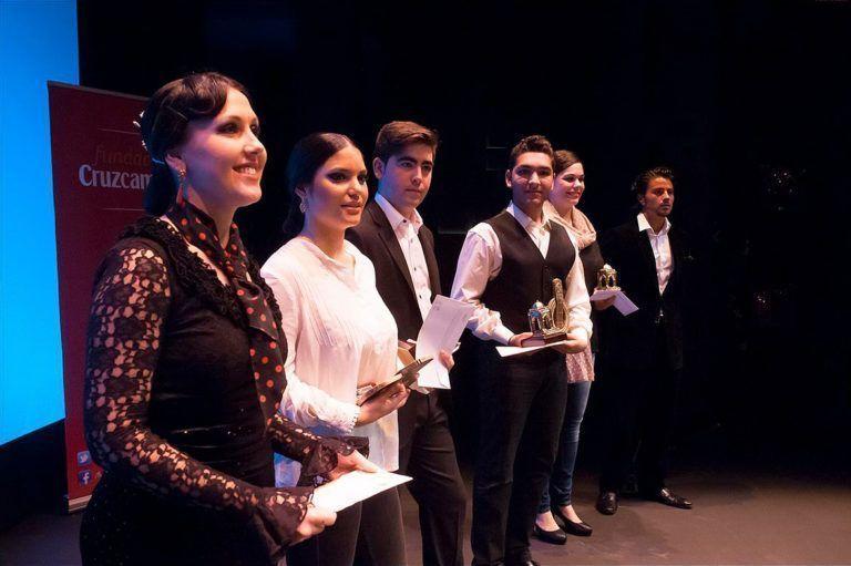 Ganadores del Concurso Andaluz de Jóvenes Flamencos 2014