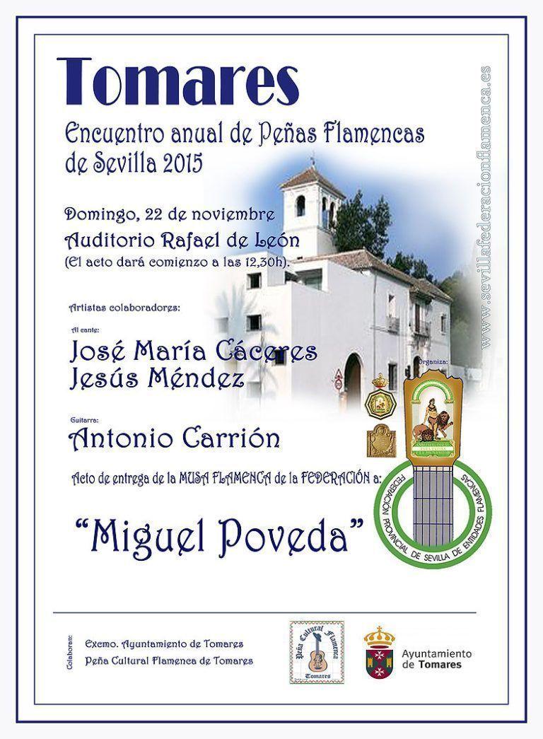 Encuentro anual de peñas flamencas de Sevilla 2015