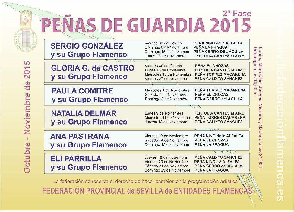 Peñas de Guardia 2015 (2ª Fase)
