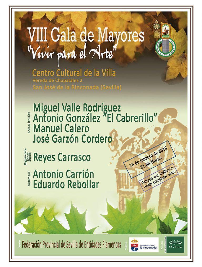 VIII Gala de mayores «Vivir para el Arte»