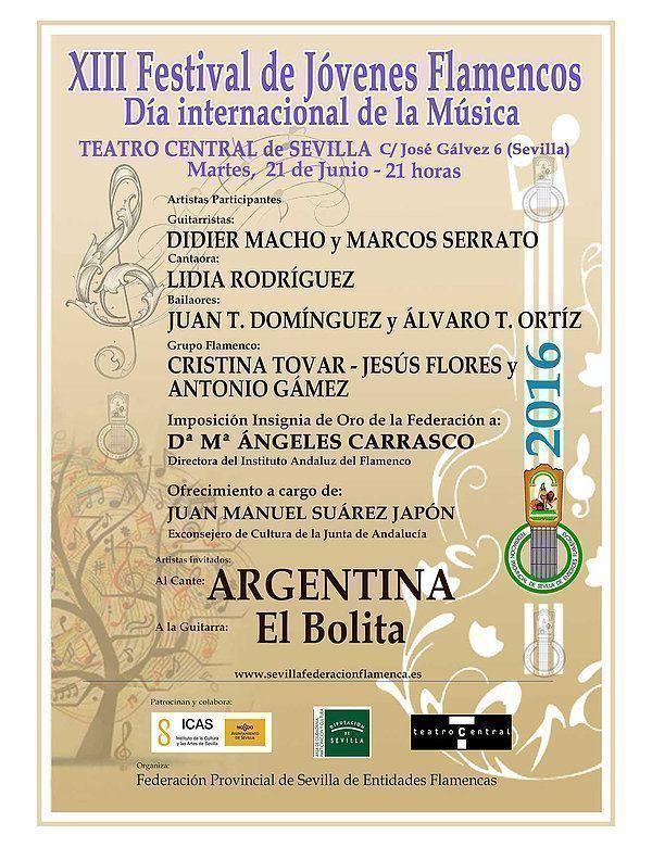 XIII Festival de Jóvenes Flamencos