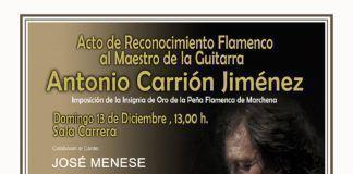 Homenaje a Antonio Carrión