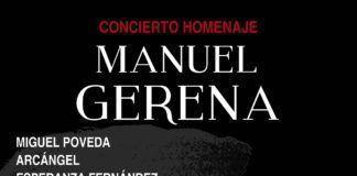 Homenaje a Manuel Gerena