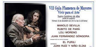 """VII Gala de mayores """"Vivir para el arte"""""""