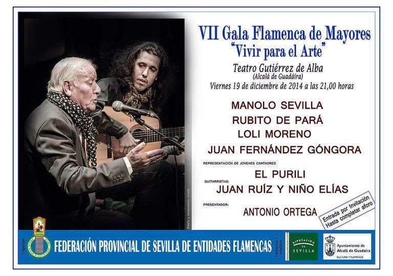 VII Gala de mayores «Vivir para el arte»