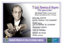 """VI Gala Flamenca de Mayores """"Vivir para el Arte"""""""