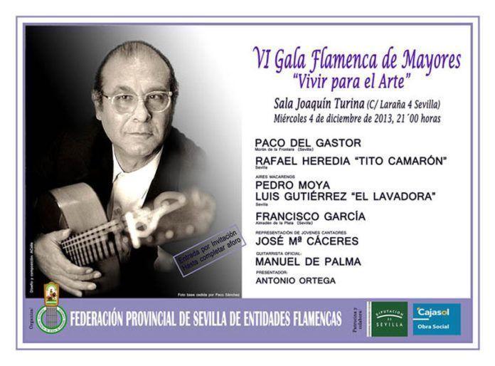 VI Gala Flamenca de Mayores