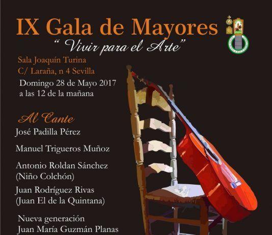"""IX Gala de Mayores """"Vivir para el Arte"""""""
