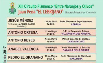 XIII Circuito Flamenco Entre Naranjos y Olivos