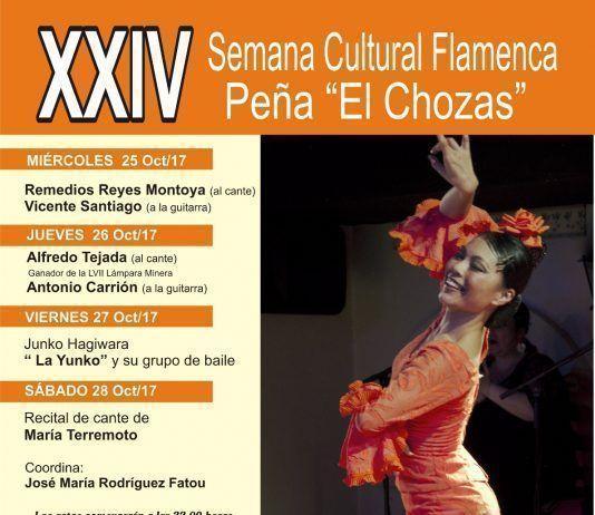 """XXIV Semana Cultural Flamenca de la Peña """"El Chozas"""""""