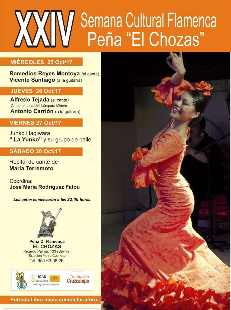 XXIV Semana Cultural Flamenca de la Peña «El Chozas»